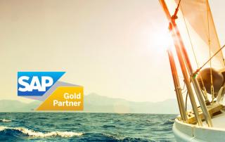 Gold Partner Logo mit ruff_consult Logo